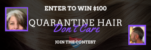 Enter to Win $100 Quarantine Hair Don't Care Contest