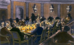 Painting of Government Meeting